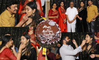 Jeevitha Rajasekhar Daughter Shivatmika Birthday Celebrations