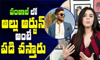 Allu Arjun is the most popular star in Punjab: Sidhika Sharma