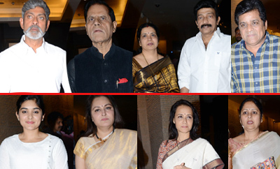 Sridevi Condolence Meet By Tollywood Personalities