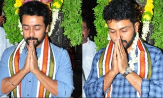 Ahead of event, Suriya, Karthi pray at Simhachalam temple