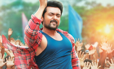 Suriya gets rousing reception in Nellore