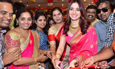 Tamannah Launches Joh Rivaaj Collections & Chennai Shopping Mall in Kukatpally