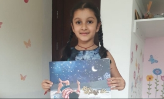 First copy of children's book goes to Mahesh Babu's daughter