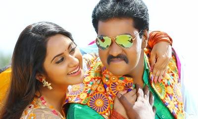 రీ రికార్డింగ్ లో సునీల్ నటించిన 'ఉంగరాల రాంబాబు' జూన్ లో విడుదల