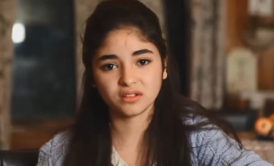 'Dangal' girl Zaira cries in recorded video after horror