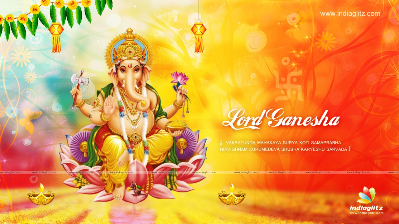 IndiaGlitz - Tamil Gods - Lord Ganesh Wallpapers