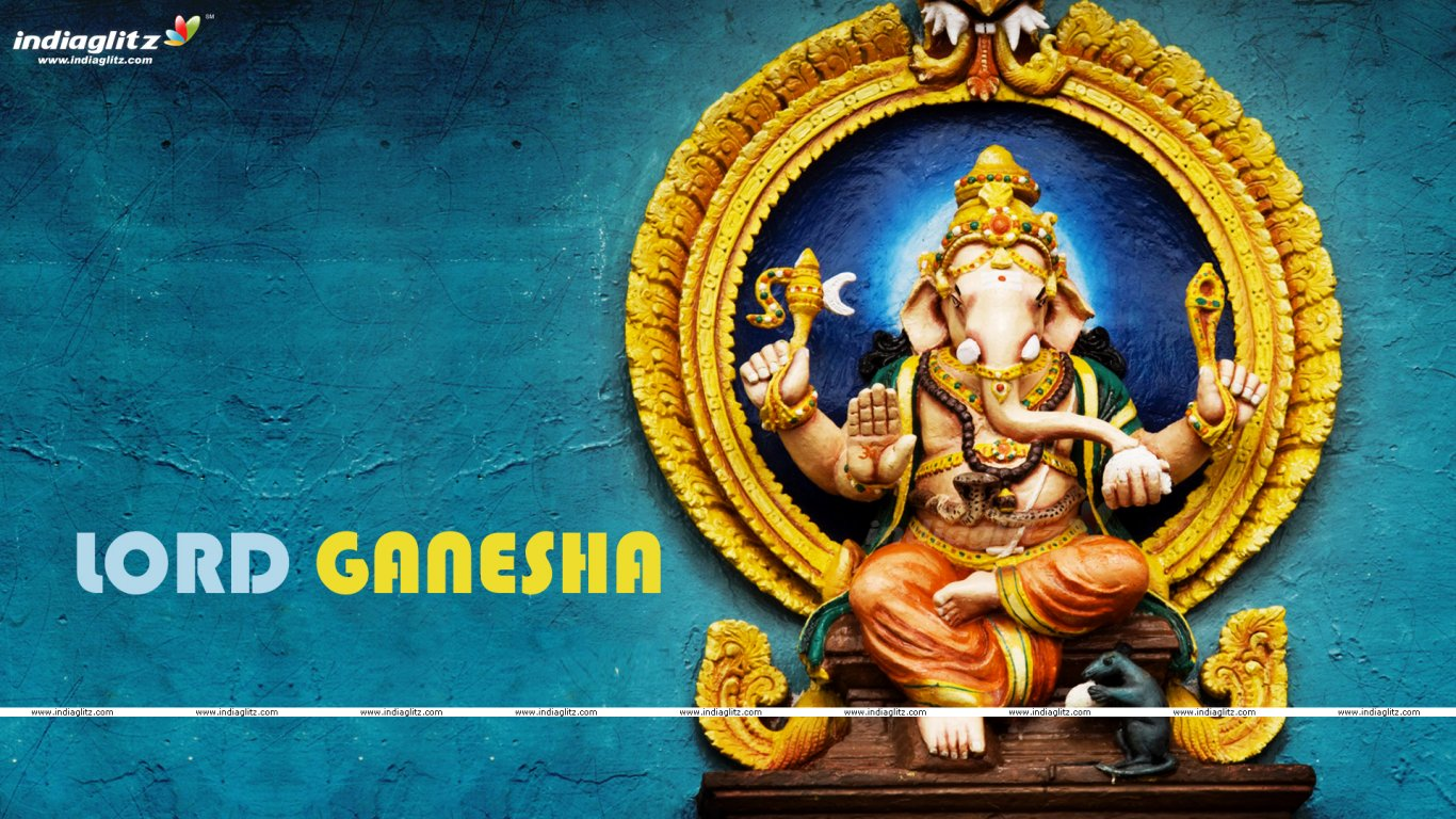 IndiaGlitz - Telugu Gods - Lord Ganesh Wallpapers