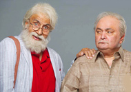 FIRST LOOK: Big B & Rishi Kapoor shoot for '102 Not Out'