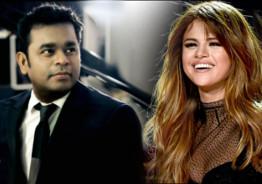 Hollywood Sensation Selena Gomez Desire To Work With A.R.Rahman