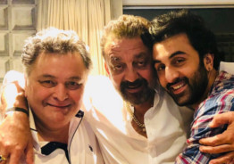 Reel and Real Life 'Sanju' Meet Rishi Kapoor