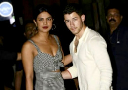 Priyanka Chopra And Nick Jonas' First Appearance In Mumbai