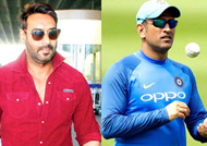Ajay Devgn, Dhoni urge people to overcome fear