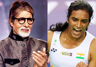 Big B congratulates Sindhu for winning Korea Open Superseries