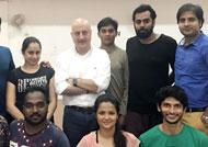 Anupam Kher visits FTII campus unannounced