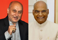 Anupam Kher wishes President Kovind