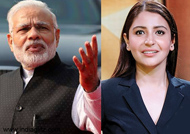 Modi invites Anushka for cleanliness initiative