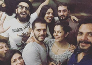 Priyanka and Ranveer Singh party together!
