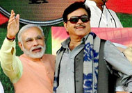 Shatrughan always there for 'India's biggest action hero' Modi