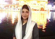 Shruti's visit to Golden Temple an 'unbelievable' experience