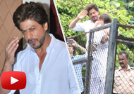 Shah Rukh Khan & Abram Celebrate Eid With Fans