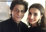Patralekha 'blushed like a child' in SRK's presence