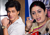 SRK extends support to IFFI 2017, Smriti Irani grateful