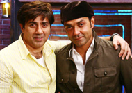 Working out 'extremely' important for Sunny, Bobby Deol