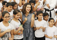 Taapsee gets nostalgic; visits her School