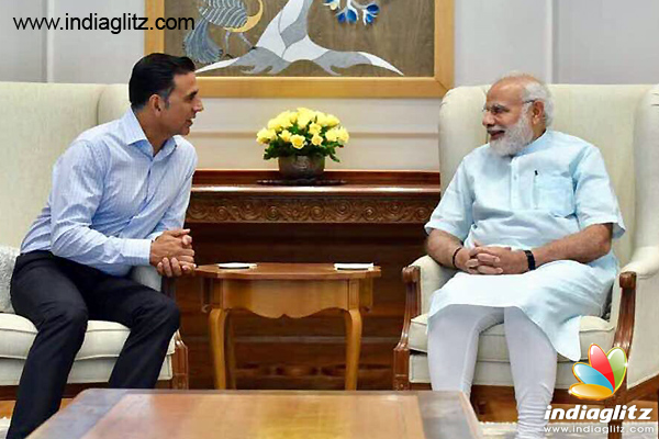 Akshay Kumar discusses Toilet: Ek Prem Katha with Prime Minister Modi