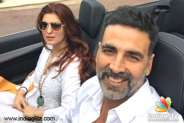 THIS IS HOW Akshay Kumar & wife Twinkle are celebrating ...
