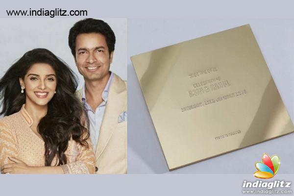 asin_wedding31_1c asins wedding invitation card bollywood movie news indiaglitz,Abhishek Bachchan Wedding Invitation Card