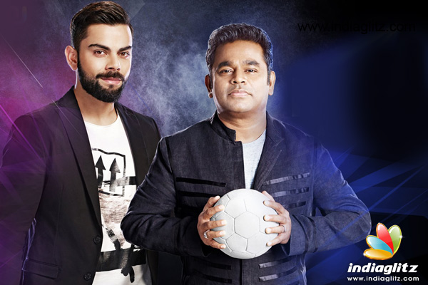 Virat Kohli dances to AR Rahman's tune in Premier Futsal's official anthem