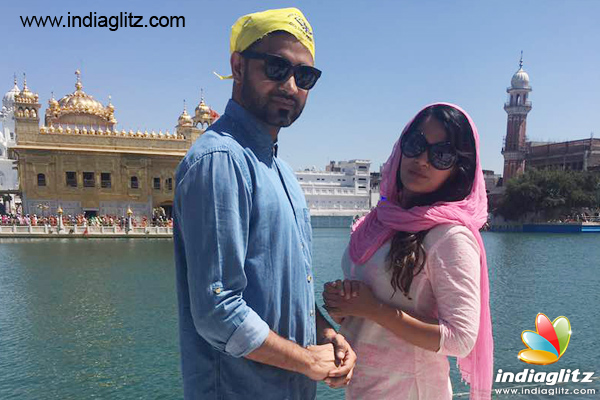 Richa Chadha At Golden Temple For 'Khoon Aali Chithi