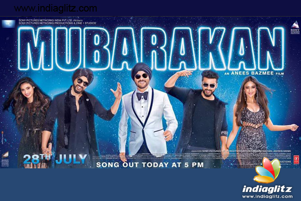 Mubarakan first poster: Anil Kapoor is having fun with two Arjuns