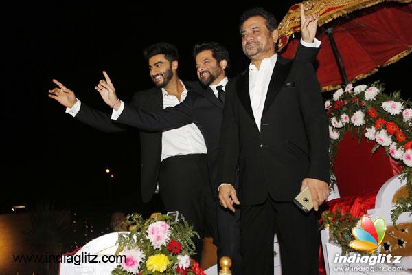 Anil Kapoor snaps clapboard to announce start of 'Mubarakan' shoot