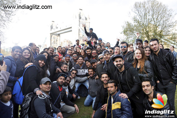 'Mubarakan' team wraps up shoot