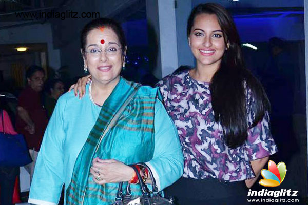 Sonakshi to act with family only with right script