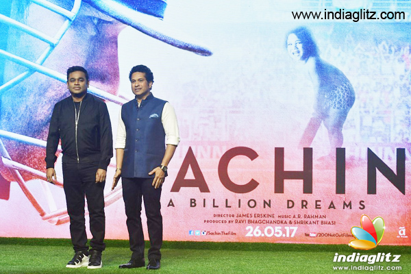 Initially the Sachin anthem song was a rap