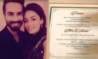 shahid_wed01_1t sneek peak of shahid kapoors wedding invitation telugu movie news,Abhishek Bachchan Wedding Invitation Card