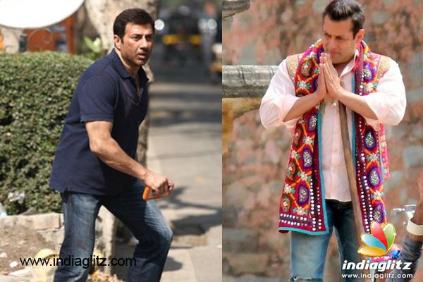Salman Khan & Sunny Deol's clash averted! - Bollywood ...