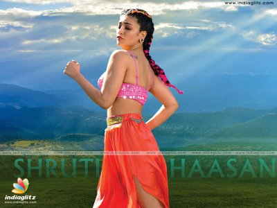 Shruti Haasan as warrior princess
