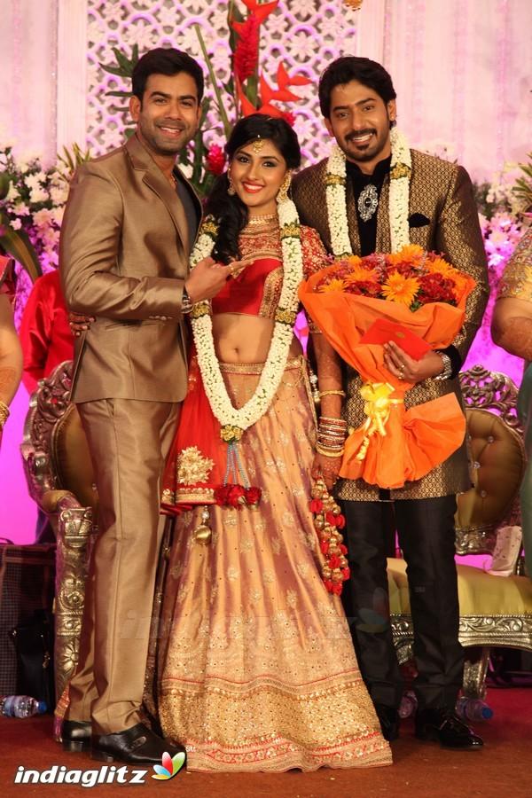 Events Prajwal Devaraj Wedding Reception Gallery Clips