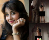 Sanjana half nude viral, actress is worried