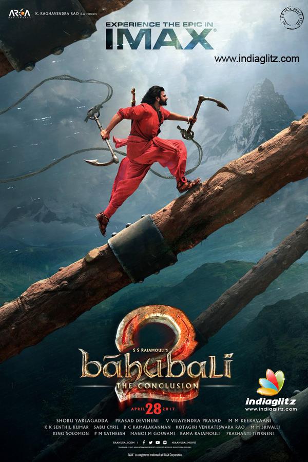 Poster Baahubali 2 (2017) Full HD Movie Download Dual Audio Hindi Free 400MB