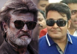 Superstar Rajinikanth is bowled over by Mohanlal's look