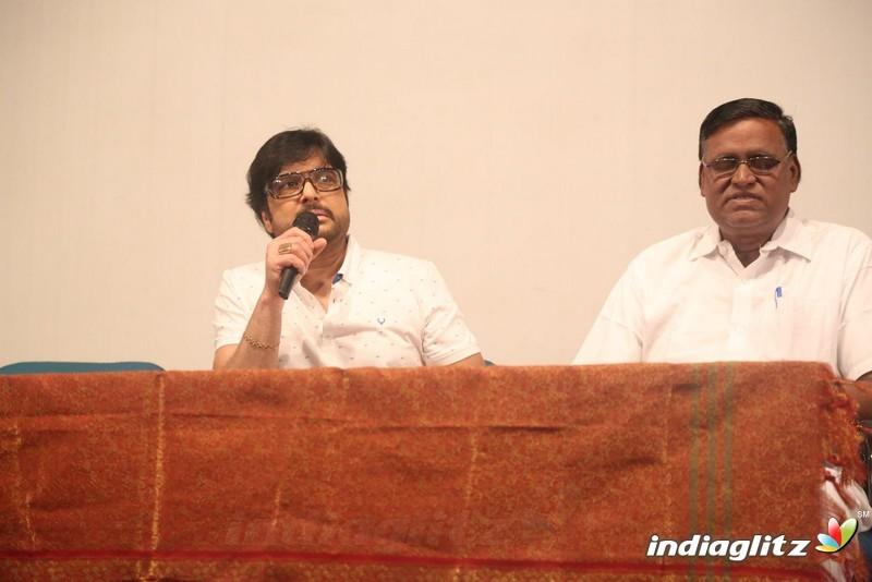 karthik press meet