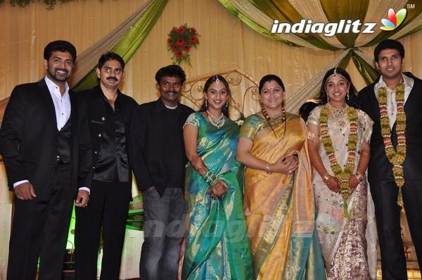 Events Vijayakumar Family Wedding Reception Gallery Clips Actors Actress Stills Images