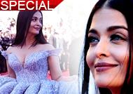 Aishwarya Rai Bachchan turns Desi Cindrella at Cannes red carpet
