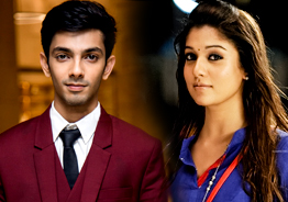 RED HOT ! Anirudh as Nayanthara's pair ?