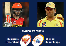 CSK hopes to get the better of 'equal opponents' SRH at their den